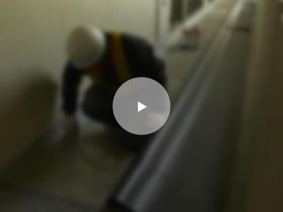 廊下防水工事