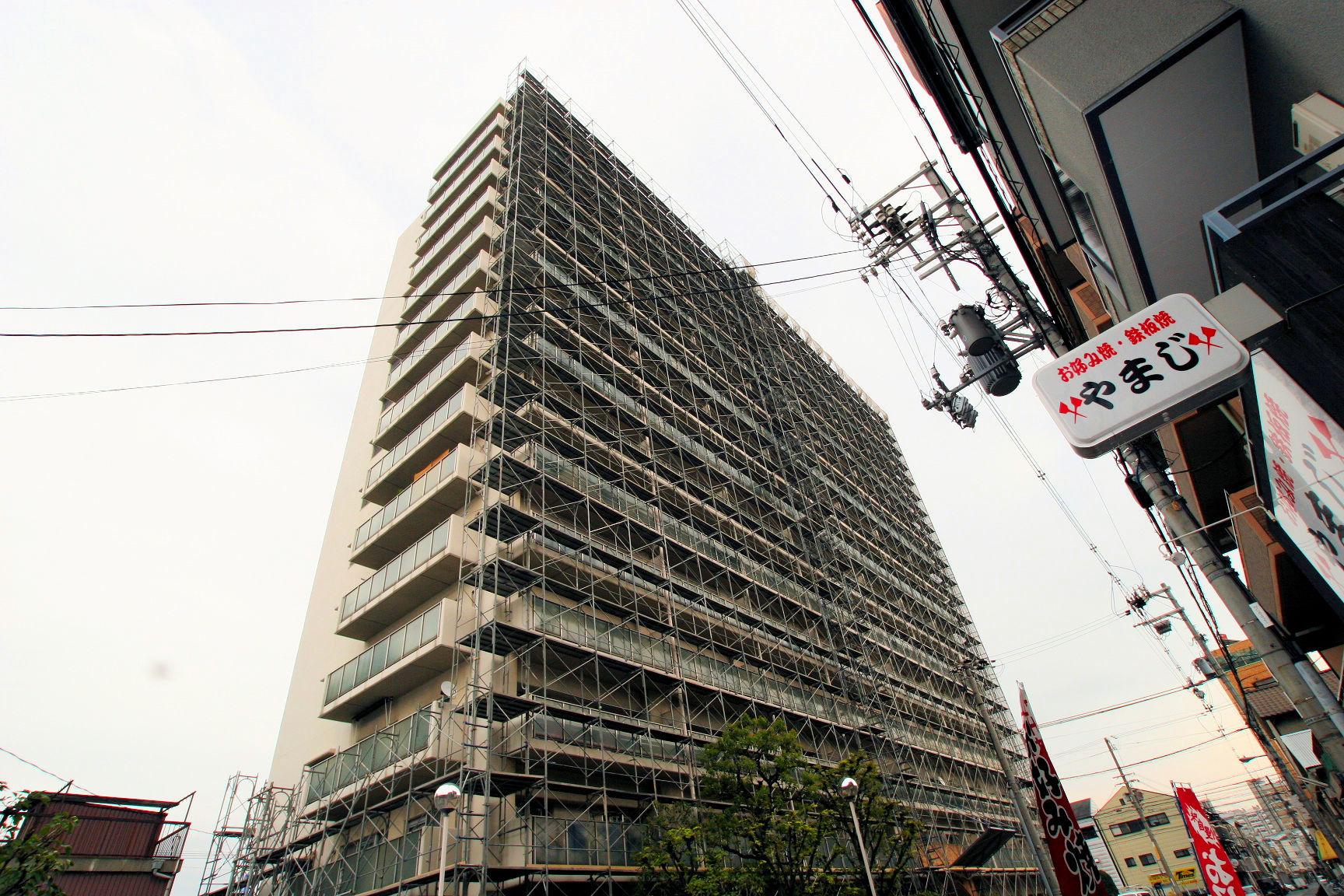 ファミール中加賀屋大規模修繕工事(大阪府大阪市)