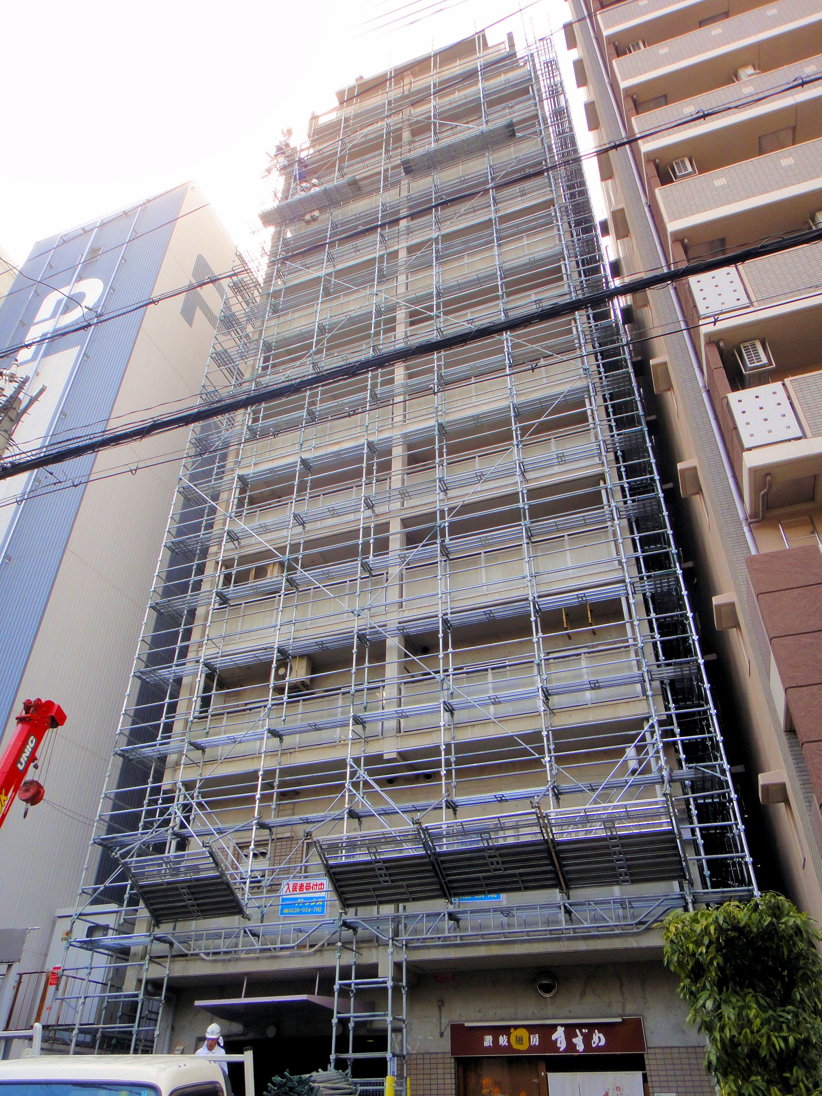 アスティ三ノ宮大規模修繕工事(兵庫県神戸市)