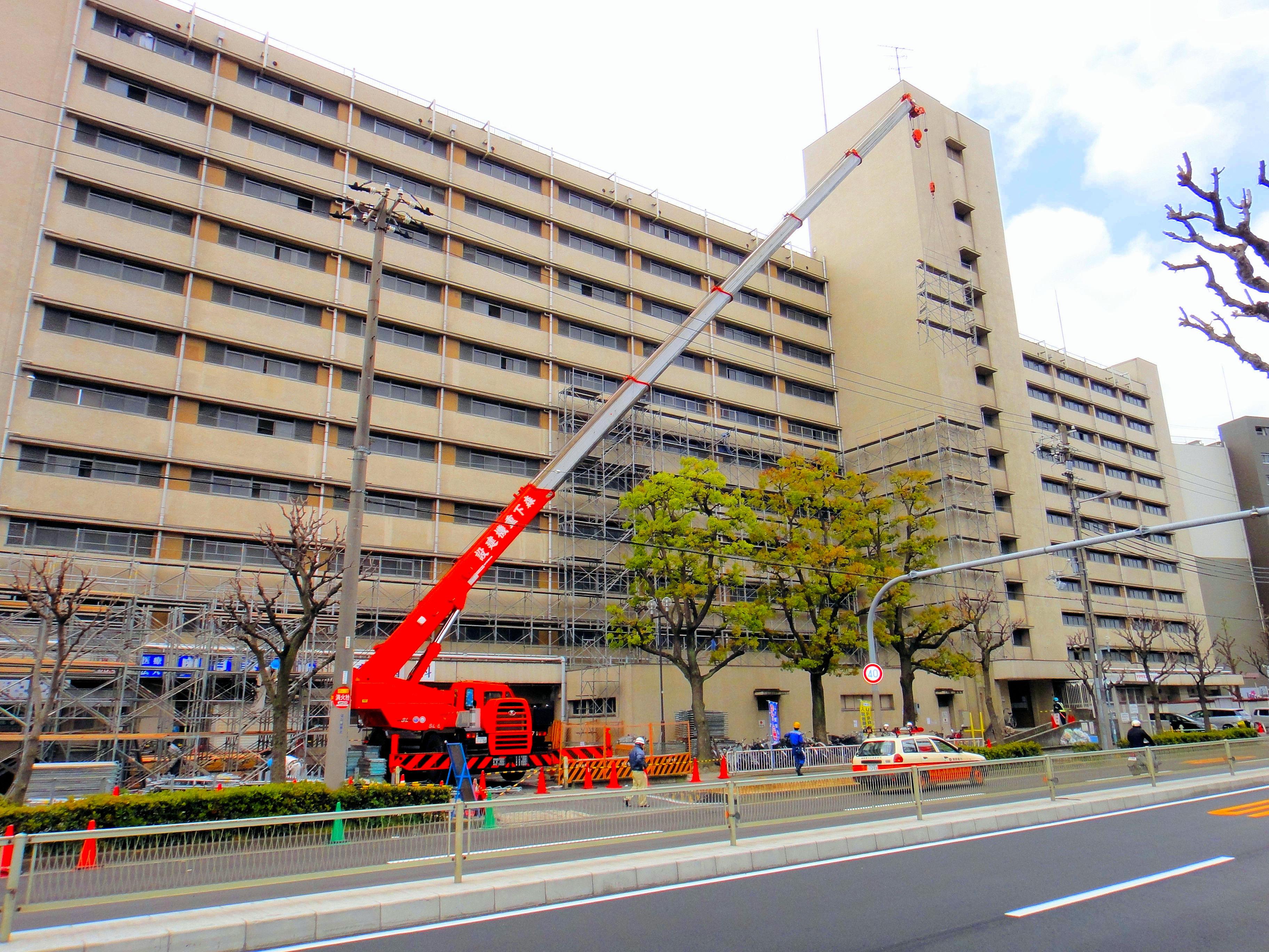 UR伝法団地大規模修繕工事(大阪府大阪市)