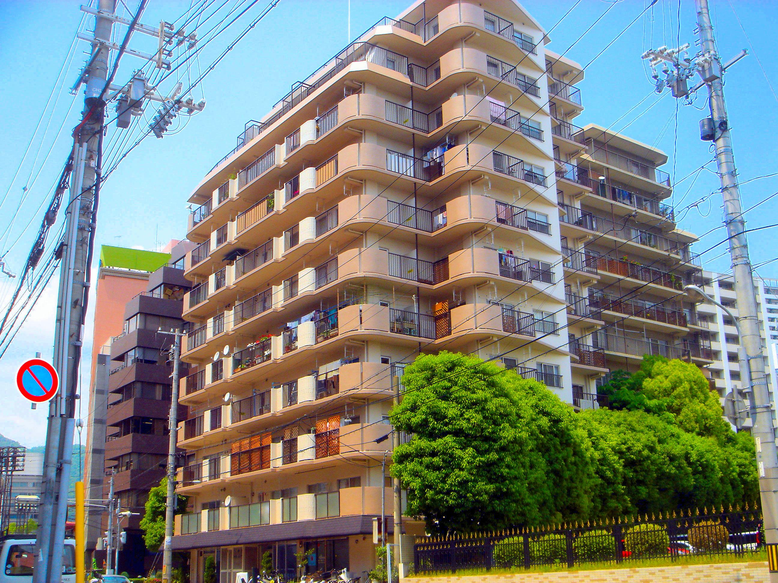 クローバーハイツ三宮大規模修繕工事(兵庫県神戸市)