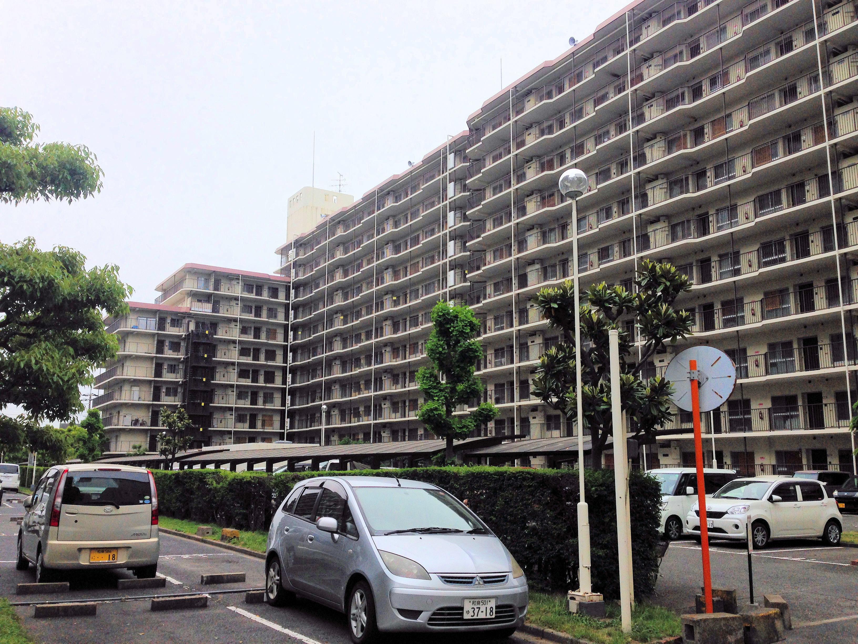 岸和田コーポラス第2期大規模修繕工事(大阪府岸和田市)