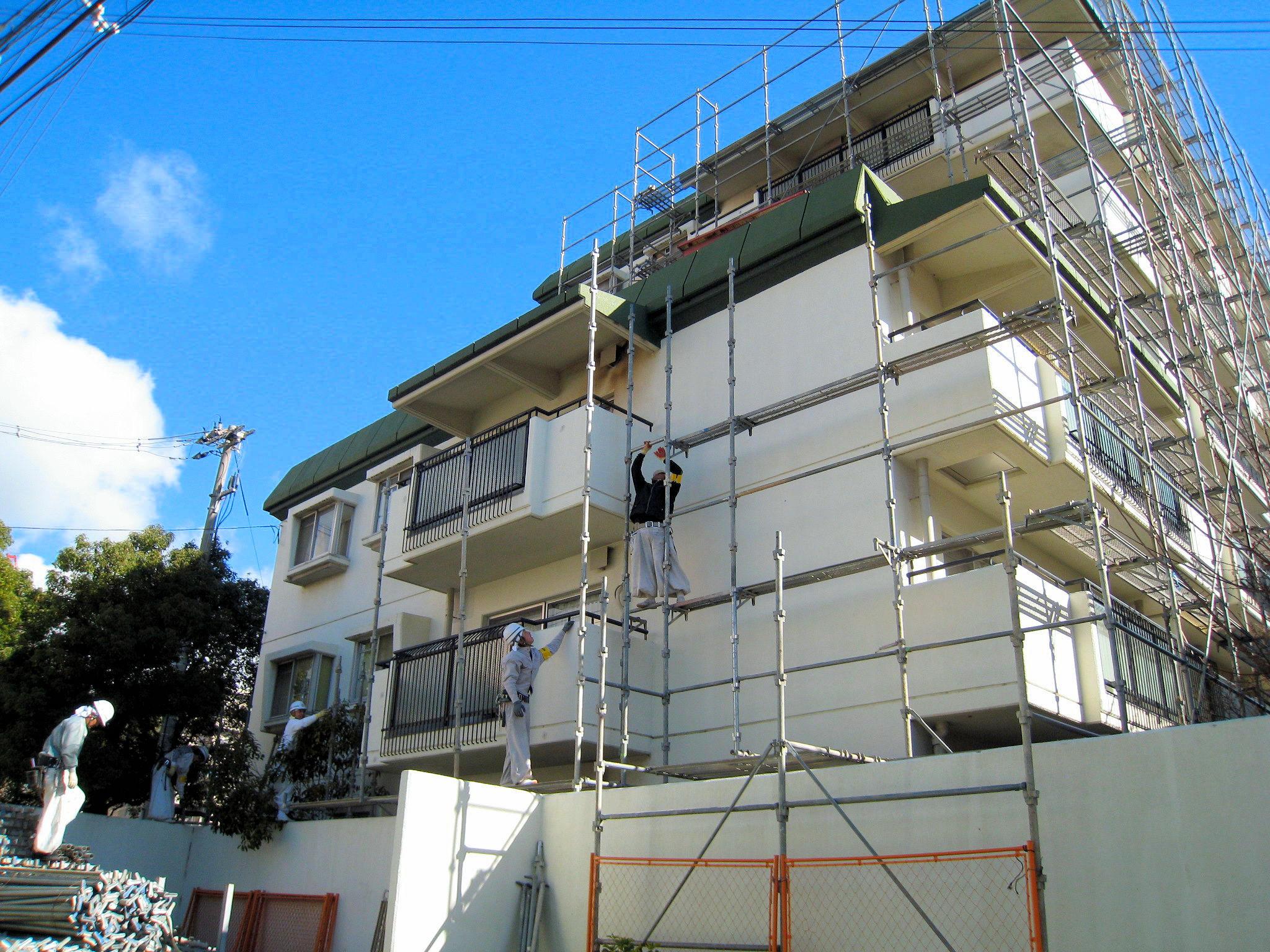 甲南アーバンライフ大規模修繕工事(兵庫県神戸市)