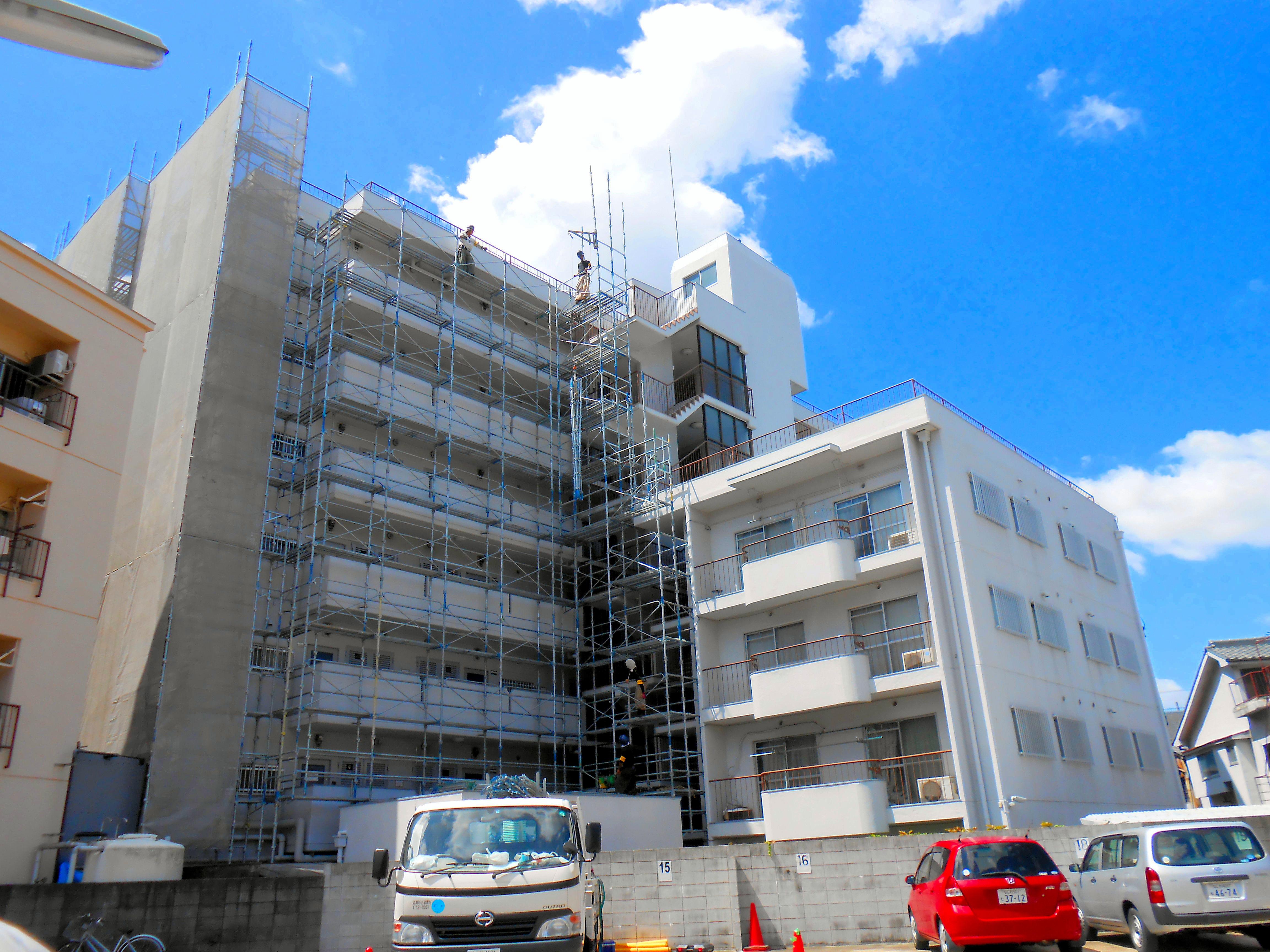 グレースコーポ都島大規模修繕工事(大阪府大阪市)
