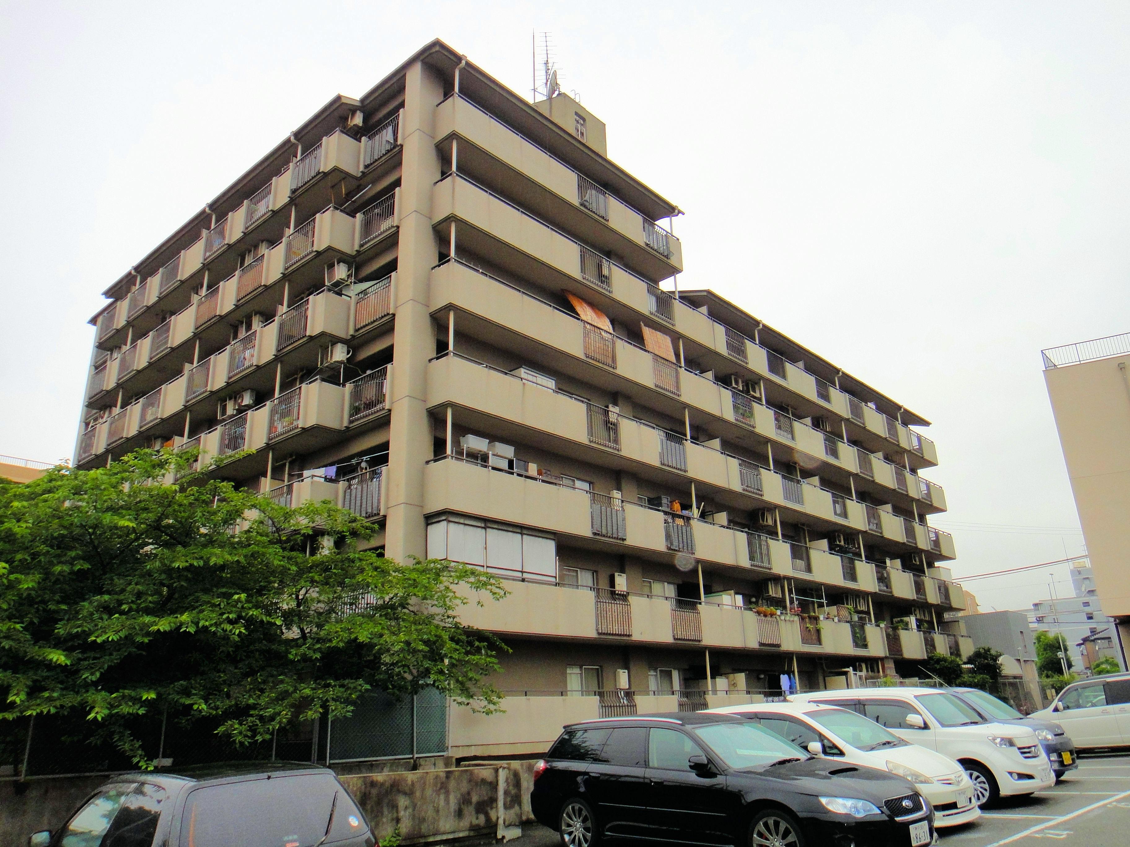 甲南グランドハイム御影大規模修繕工事(兵庫県神戸市)