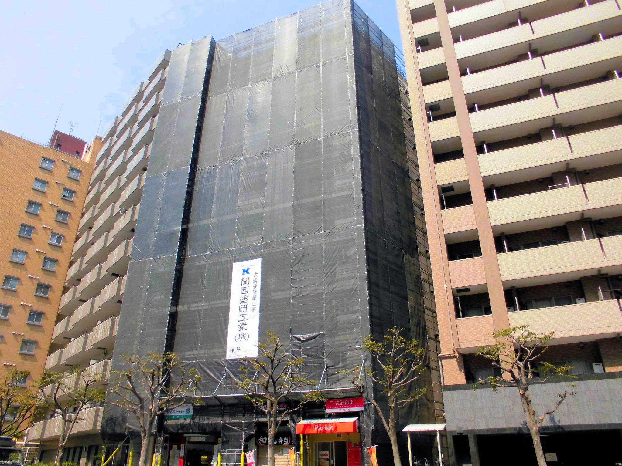 甲南メゾン三ノ宮大規模修繕工事(兵庫県神戸市)