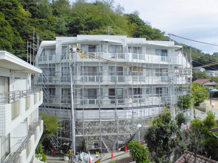 ビバリーハウス青谷壱番館大規模修繕工事(兵庫県神戸市)