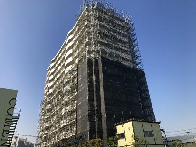 ユニハイム東灘(兵庫県神戸市)    大規模修繕工事