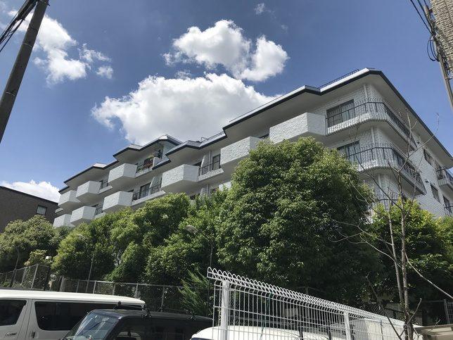 千里山パレス(大阪府吹田市)     大規模修繕工事