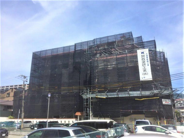 摂津コーラルハイツ大規模修繕工事(兵庫県神戸市)
