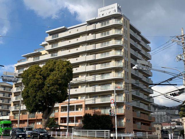 リブコート長田ウェルズ大規模修繕工事(兵庫県神戸市)